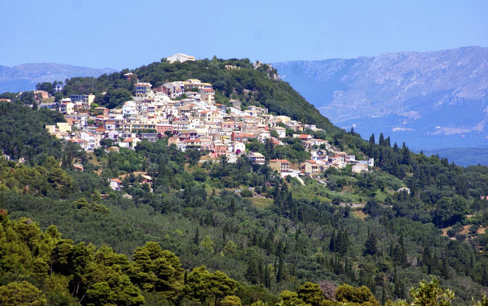 chondrogiannis tours corfu sightseeings pelekas village